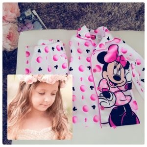 Kids🎡 lil' girls Disney Minnie Mouse PJ's